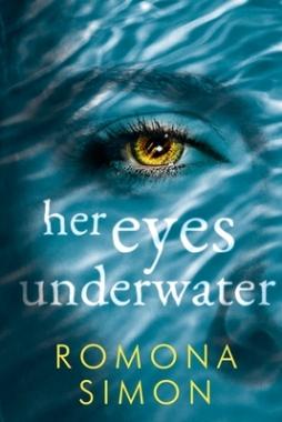 her eyes underwater